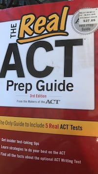 The Real act prep guide book Fairfax Station, 22039