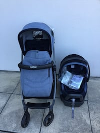 Peg Perego stroller and car seat new condition  Vaughan, L4L 9M6