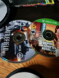 two Xbox One game discs 40 km
