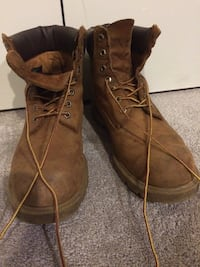 Men's Size 10 Timberland Workboots Owings Mills, 21117