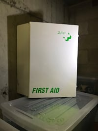 Metal first aid box Vancouver, V5M 4T9