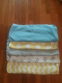 Baby blankets (5). Good condition.  Bayonne, 07002