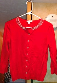 Super cute new red sweater small Elizabethtown