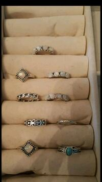 9 size 6 rings brand new