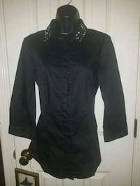 black button-up long-sleeved shirt El Paso, 79928