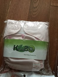 Brand new cloth diapers and inserts