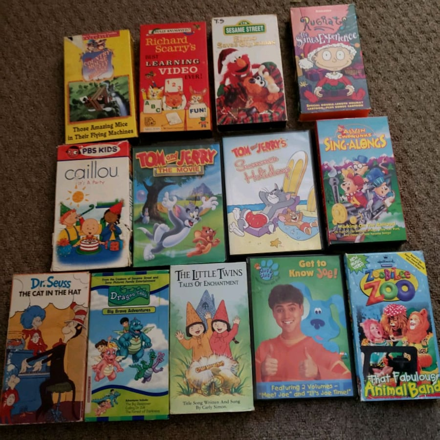Kids DVD and VHS