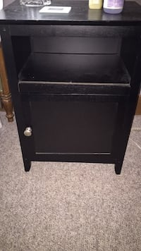 Black nightstand  Indianapolis, 46204