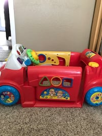 Toddler's red and white car toy baby toy Los Alamos, 93440