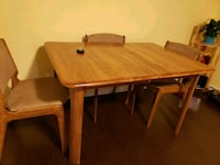 rectangular brown wooden table with chairs Toronto, M1P 4H2