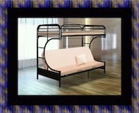 Twin futon bunk bed frame Adelphi