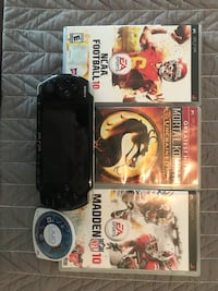 Sony PSP 3000 w/ 4 games Kettering, 45440