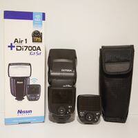 Sony Camera wireless Flash Kit Nissin Di700A Markham