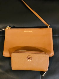 Authentic leather MK Bag w/ matching wallet Manassas Park, 20111