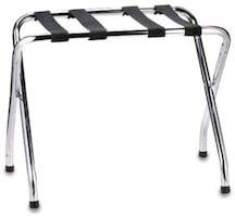 2 Folding luggage racks
