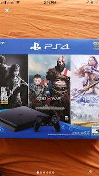 PS4 bundle with 3 games... new Toronto, M5G 1H4