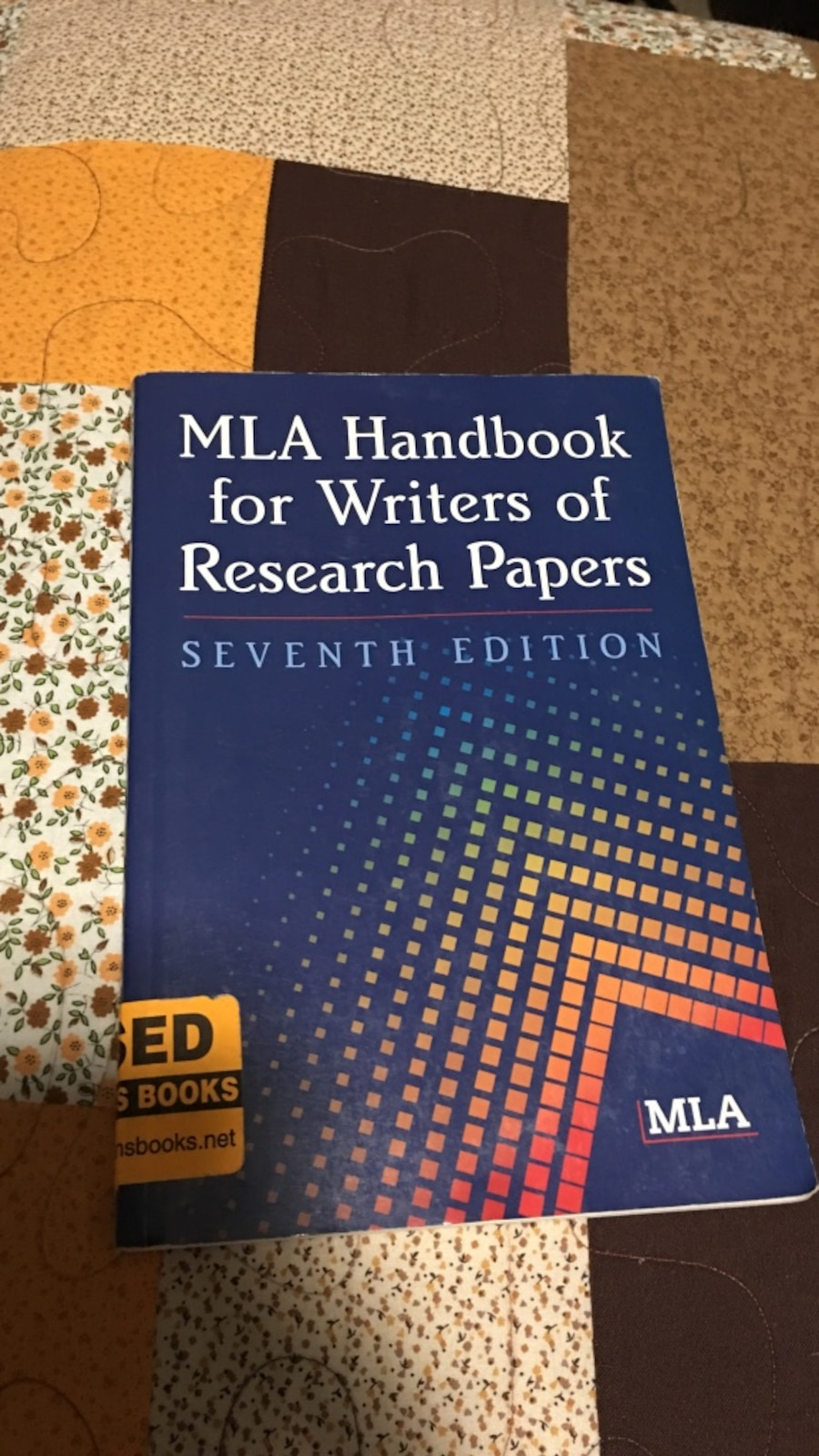 handbook for writers of research papers 7th ed Mla citation handout (7th edition) based on the mla handbook for writers of research papers seventh edition ask for the above manual at the chabot library reference.