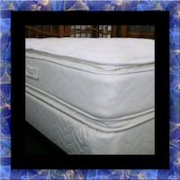 Twin mattress double pillowtop with box spring Manassas, 20108