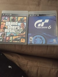 two Sony PS3 game cases Coral Springs, 33071