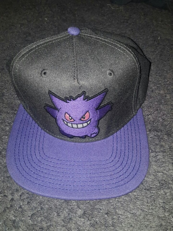 Used Pokemon Gengar Snapback Hat for sale in Oakdale - letgo 6a24b3225d8