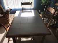 Kitchen Table & Chairs-Solid Wood Kokomo, 46902