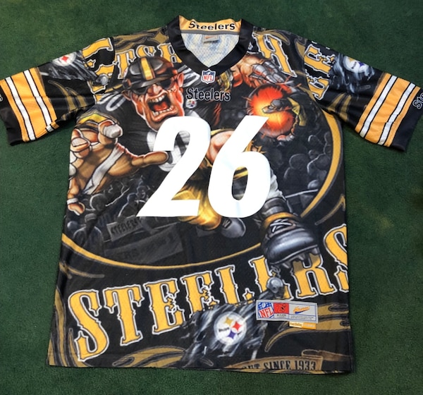 wholesale dealer 8e267 8a52b Men's Size Large Steelers Jersey