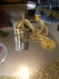 Cross box pendant and 24 inch chain Winnipeg, R2K