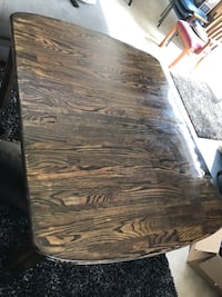 Zebra stained dining room table Virginia Beach, 23454