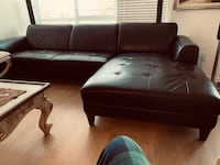 Clean Real Leather couch Vancouver, V6K 3W9