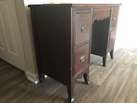 brown wooden cabinet with mirror Durham, 27707