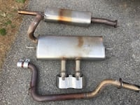 Ford Focus ST complete factory catback exhaust. Fairplay, 21733