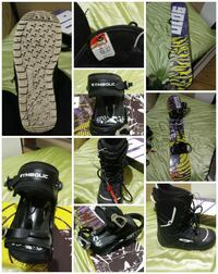 Snow board boots and bindings/ cross posted