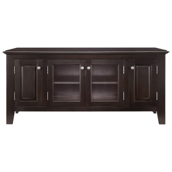 Insignia - TV Stand for Most TVs up to 60 - Espresso NS-HWG1655E
