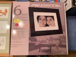 New digital picture frame