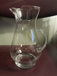 Vtg Princess House Lead Crystal pitcher Maryland, 21244