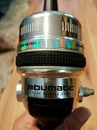 Abumatic reel and Zebco fishing rod Thomasville, 27360