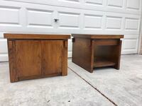 Mid Century Modern Lane Brutalist End Table Hutch Set. MCM Las Vegas, 89129