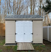 Custom Best Built Vinyl shed 8 x10 (1.5yrs old)