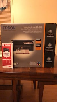 UNOPENED Epson printer with Staples protection plan Lodi, 07644