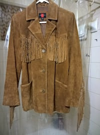Western Genuine Suede Leather Jacket