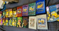 Simpsons dvds season 1-18 and 20 Vaughan, L6A