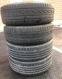 4 tires 225/65r17 life %70 very good tiers $80 all  Leesburg, 20176