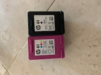 HP Printer Ink (61 Black and 61 Tri-Color)