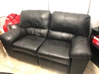 Leather couch with recliner New York, 10306
