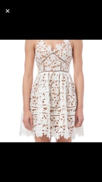 White lace dress size S brand new  Toronto, M5V 3X5