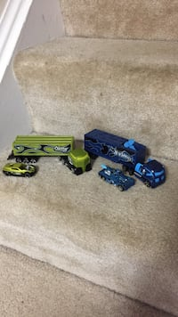 Green and blue truck toys Damascus, 20872