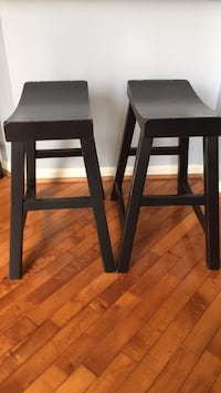 set of two Pottery Barn stools Sterling, 20165