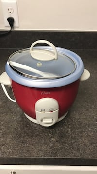 Oster rice cooker- red and white Arlington, 22206