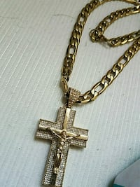 gold-colored cross pendant necklace Tucson, 85730
