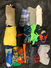 Boys name brand clothing size 10-12 sets for $7.00